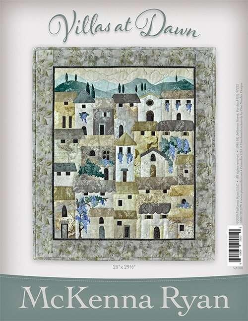 Villas at Dawn Pattern and Fabric Kit - McKenna Ryan preview