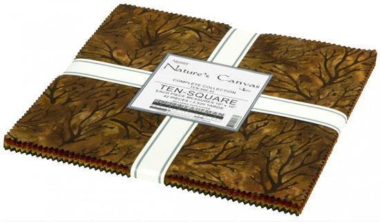 Nature's Canvas Batik, 42pcs/bundle from Robert Kaufman preview