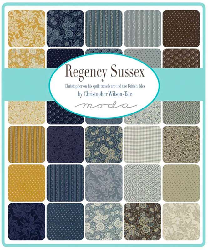 Regency Sussex - Layer Cake preview