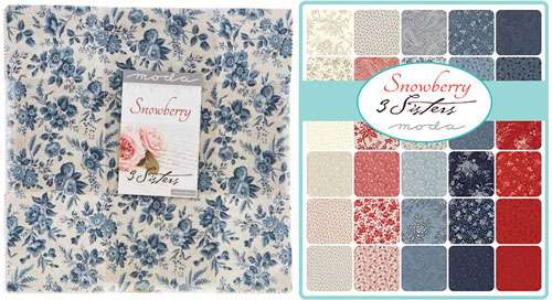 Snowberry Layer Cake by Moda