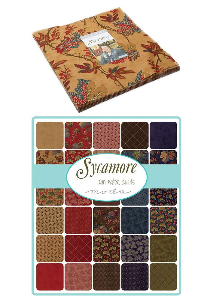 Sycamore Layer Cake - Jan Patek Quilts for Moda