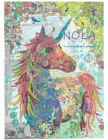 Unicorn Nola Collage by Laura Heine  preview