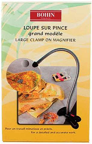 Large Clamp On Magnifier