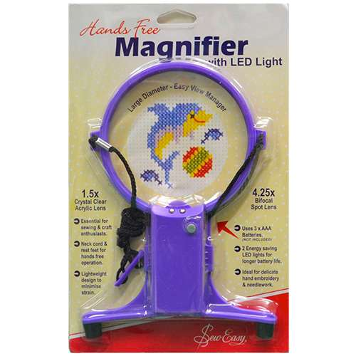 Hands Free Magnifier with LED Light preview