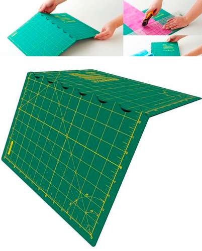Olfa Folding Cutting Mat 12in x 17in