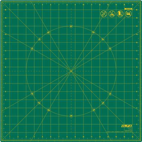 Olfa Rotating Cutting Mat (17 inch square) preview