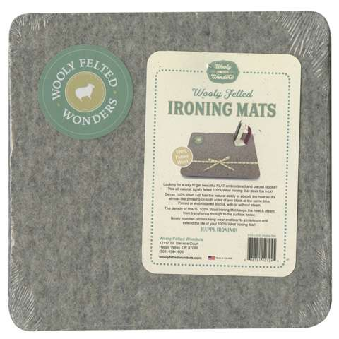 "Wooly Felted Ironing Mat 8-1/2"" x 8-1/2"""