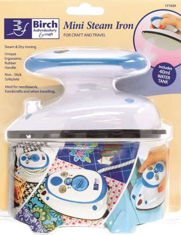 Mini Steam Iron for Craft & Travel