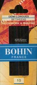 Bohin - Between/Quilting Needles - Size 10