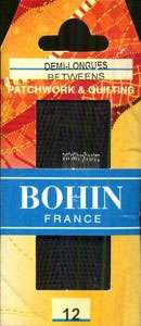 Bohin - Between/Quilting Needles - Size 12