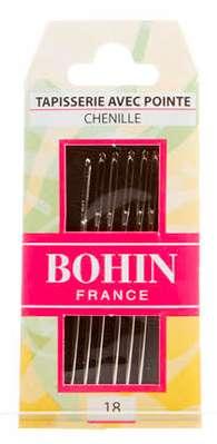 Bohin Chenille Needles - Size 18 (6 ct)