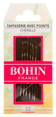 Bohin Chenille Needles - Size 22 (6 ct)