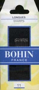Bohin - Sharps Needles - Size 11