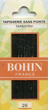 Bohin - Tapestry Needles - Size 26