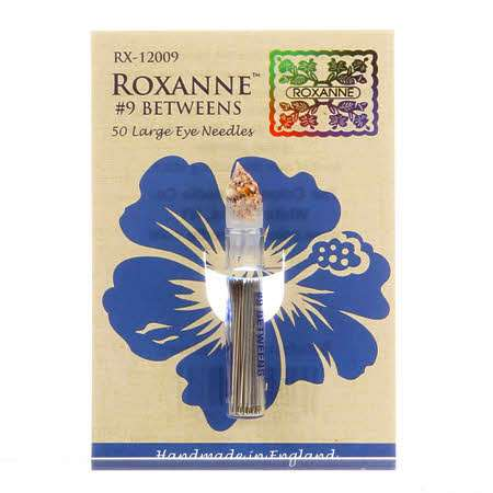 Roxanne #9 Betweens - 50 Large Eye Needles (RX-12009) preview
