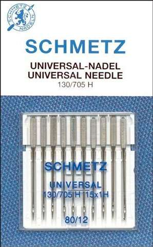 Schmetz - 5 Universal Needles Size 12