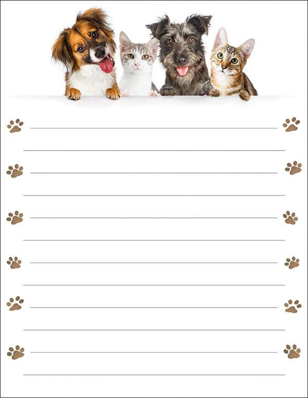 Note Pad - Pet Memo Pad preview