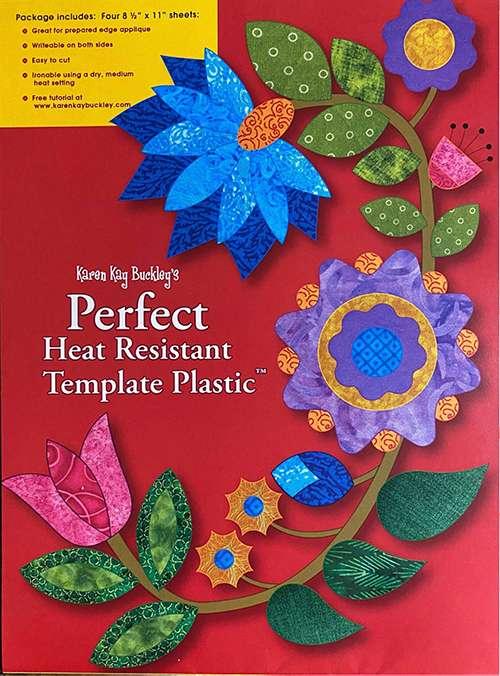 Karen Kay Buckley's Perfect Heat Resistant Template Plastic preview