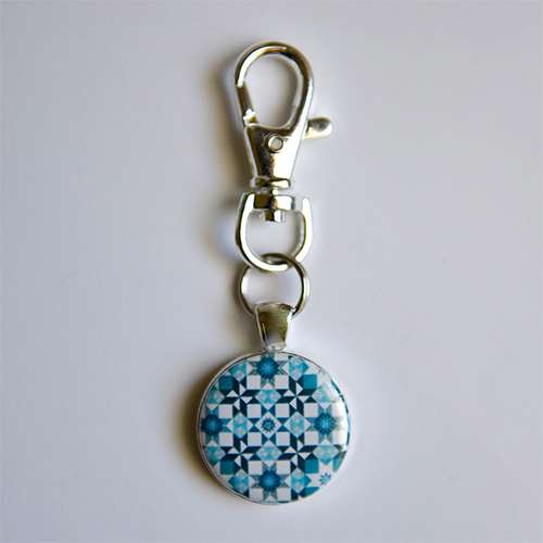 Amanda Murphy - Startdust Blue Fob with Swivel Clip preview
