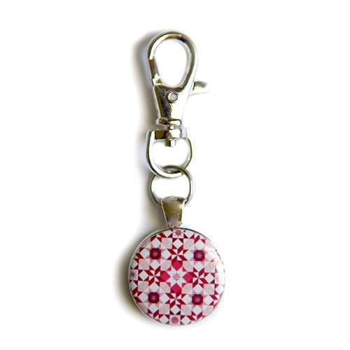 Amanda Murphy - Startdust Red Fob with Swivel Clip  preview