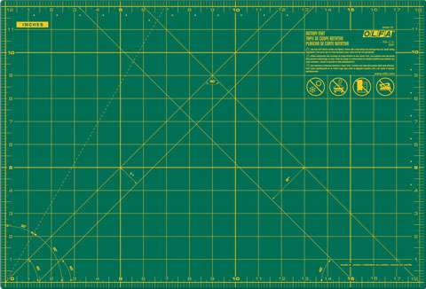 "OLFA Cutting Mat - Small - 12"" x 18"""