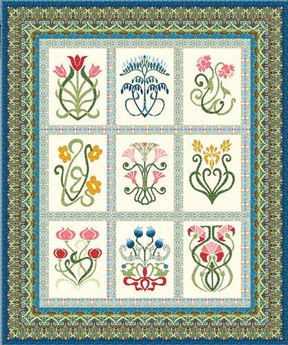 Arts & Crafts Sampler Quilt Pattern