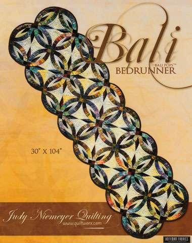 Bali Bed Runner Pattern by Judy Niemeyer preview