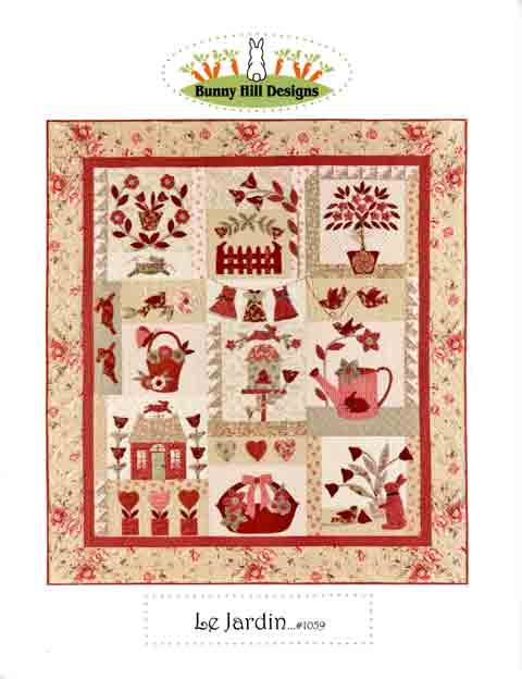 Bunny Hill Designs Pattern - Le Jardin