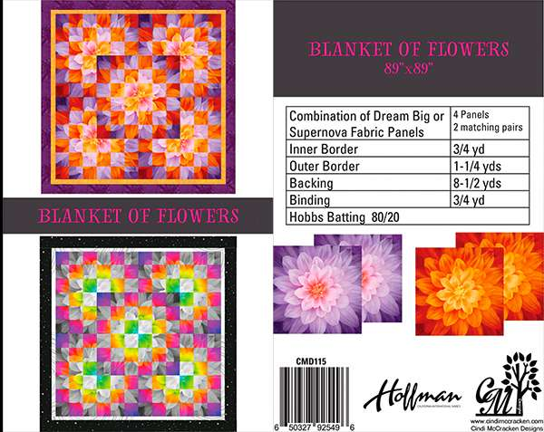 Blanket of Flowers Pattern preview