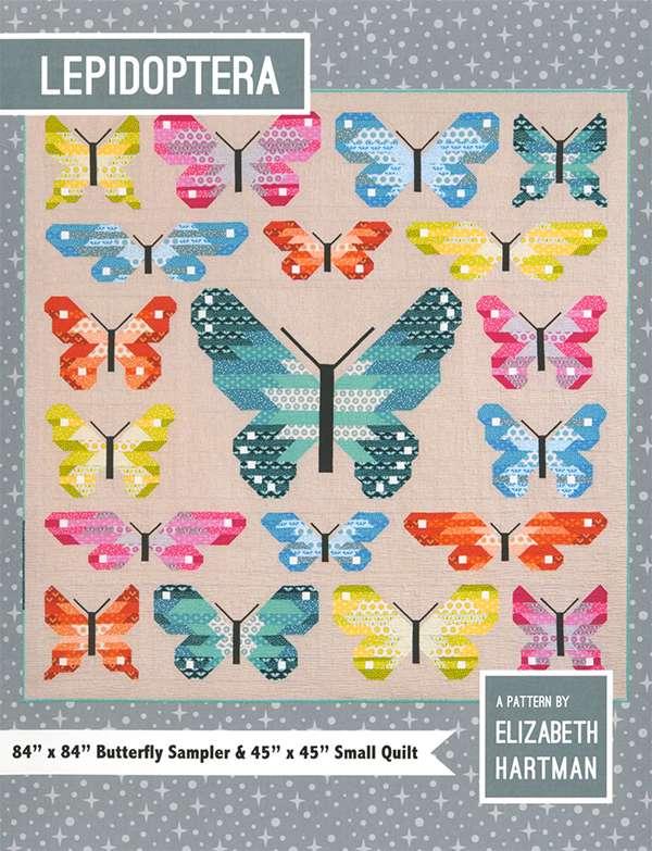 Lepidoptera - Butterfly pattern by Elizabeth Hartman preview