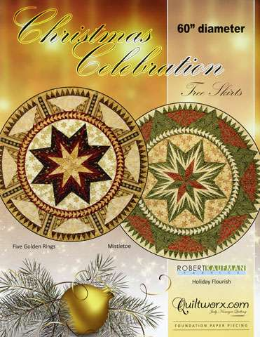 Christmas Celebration Tree Skirt by Judy Niemeyer