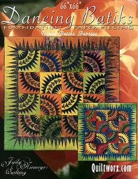Dancing Batiks (Pattern) by Judy Niemeyer
