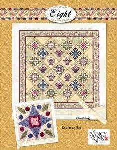 End of an Era by Nancy Rink (Mills Works Elight Block of the Month) preview