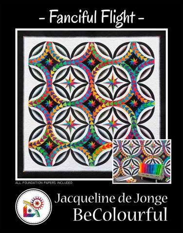 Fanciful Flight Pattern by Jacqueline de Jonge
