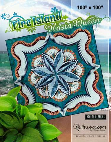 Fire Island Hosta-Queen Pattern by Judy Niemeyer