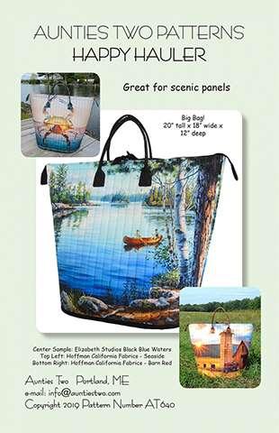 Happy Hauler Bag Pattern preview