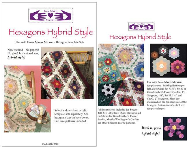Hexagons Hybrid Style Pattern by Marti Michell preview