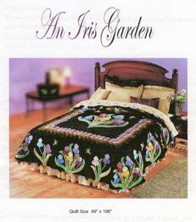 Iris Garden Quilt (Pattern)