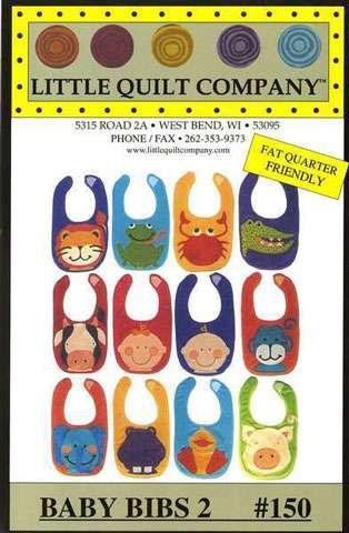 Little Quilt Company - Baby Bibs 2 #150