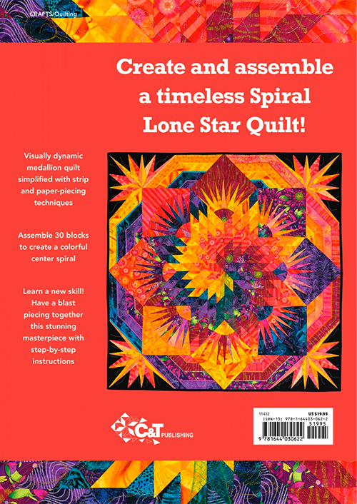 Spiral Lone Star Quilt by Jan P Krentz preview