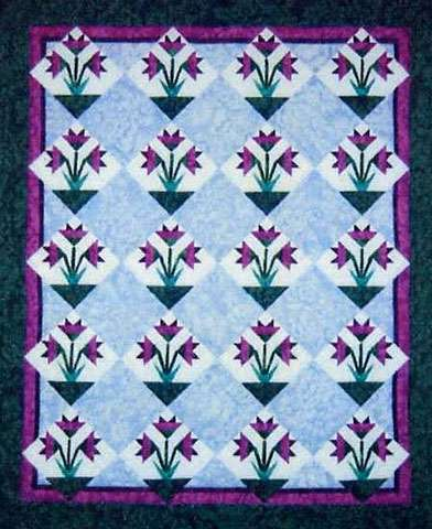 Mini Carolina Lily Pattern by Cindi Edgerton