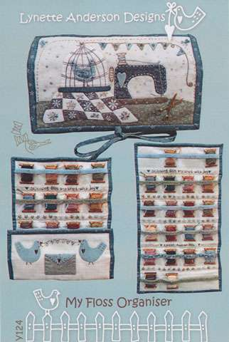 My Floss Organizer Pattern by Lynette Anderson