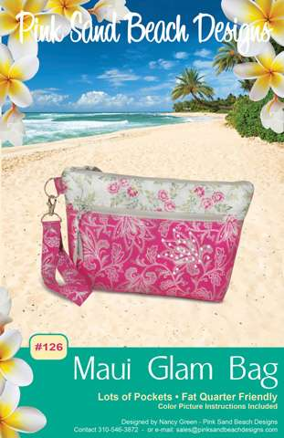 Maui Glam Bag Pattern by Pink Sand Beach Designs