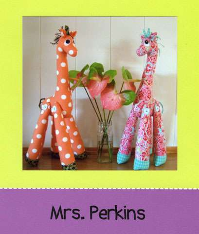 Mrs Perkins - Giraffe Pattern