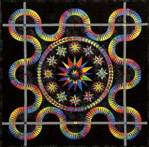 Midnight Stars Pattern By Jacqueline De Jonge Patterns