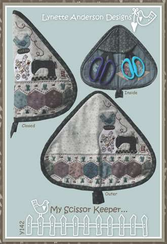 My Scissor Keeper Pattern by Lynette Anderson preview
