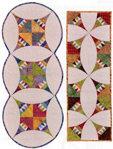 Pie and Ice Cream Table Runner Pattern by Janice Pope
