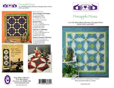 Pineapple Pizazz Pattern by Marti Michell
