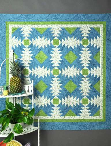 Pineapple Pizazz Pattern by Marti Michell preview