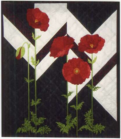 Papaver Pizzazz Pattern by Adrienne Walker